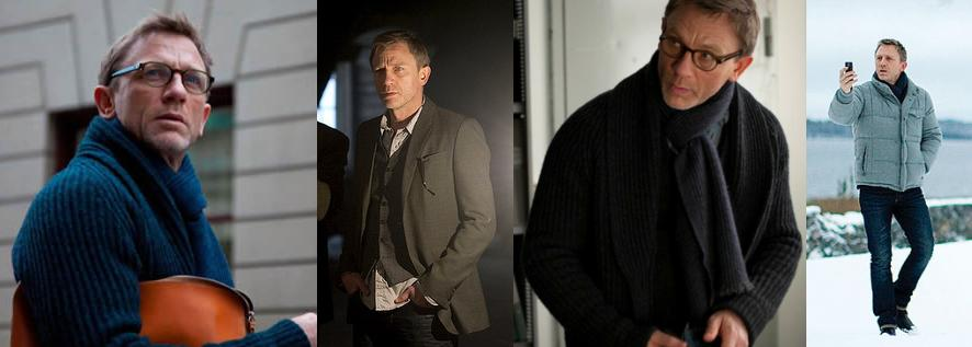 Style Steal Daniel Craig As Mikael Blomkvist