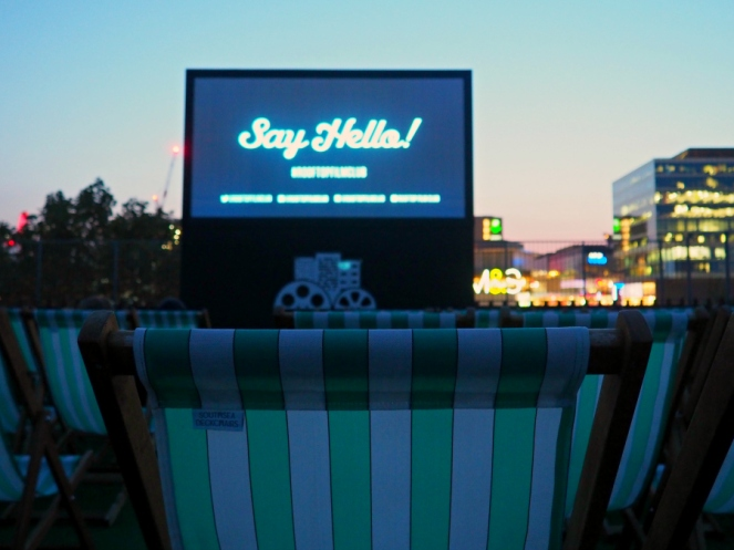 Rooftop Cinema London Lifestyle Blogger