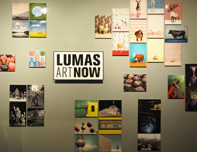 Lumas art gallery London launch