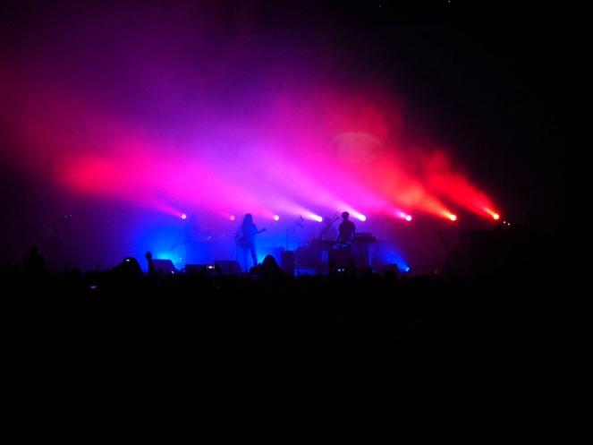 Tame Impala live music band at Ally Pally Alexandra Palace London blogger