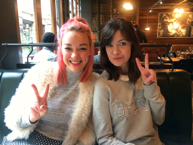 Galentines Day Food London Bloggers at Brunch