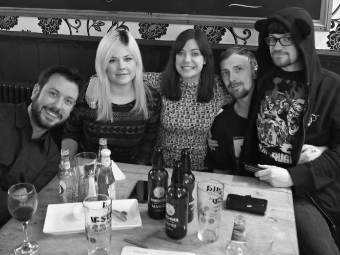 Housemates local pub quiz Stratford London blogger King Eddie's friends