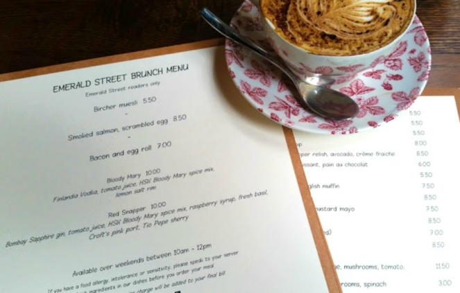 Heddon Street Kitchen Emerald Street Menu