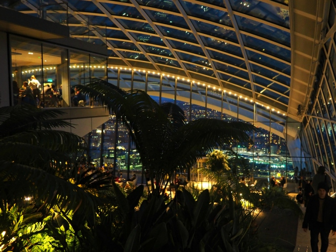 The Sky Garden London City View Indoor Tropical Plants