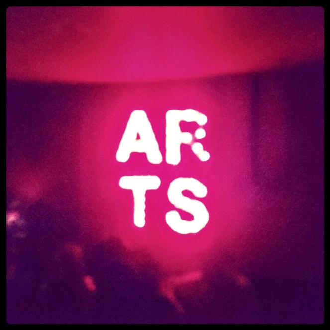 Arts Theatre Club Soho London Neon Sign
