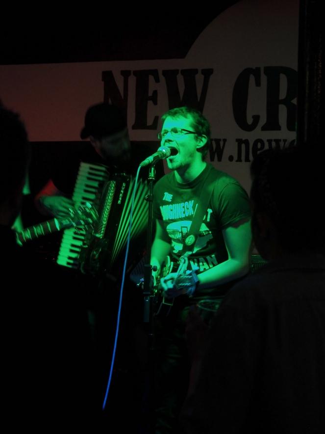 Smokey Bastard Live Band St Patrick's Day Punk at New Cross Inn London music blogger