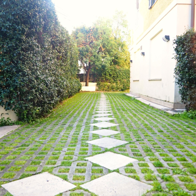 Garden Path Ars Hotel Rome Italy, Travel Blogger