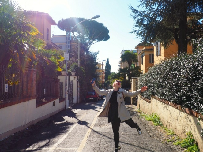 ImbeingErica in Rome Italy, Travel Blogger