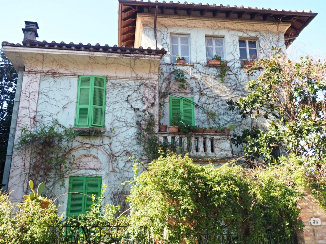 Ivy Tree House in Rome Italy, Travel Blogger