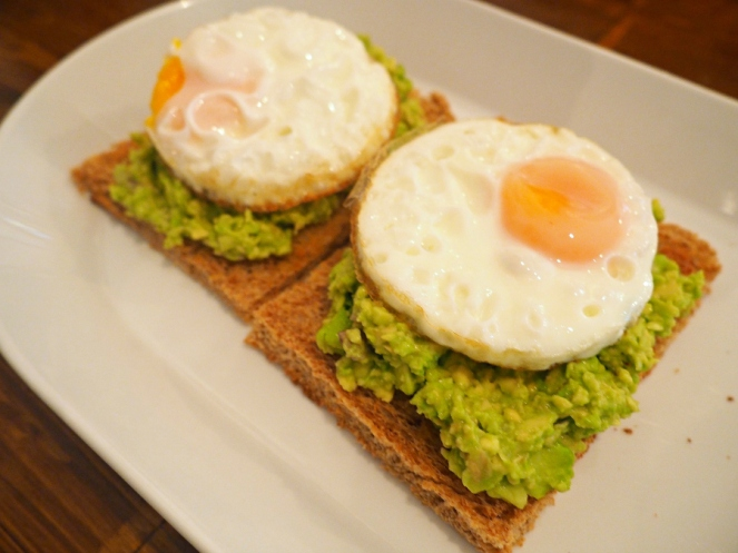 The Egg and Crockery Breakfast Cafe Eggs and Avocado London Food Blogger