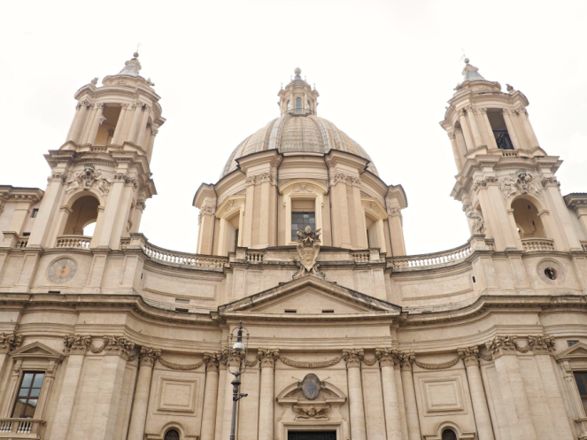 Sant'Agnese in Agone Church in Rome Italy, Travel Blogger