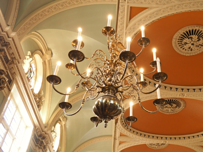 Chelsea Old Town Hall chandelier Frock Me vintage fair London