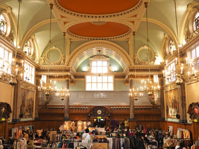 Frock Me vintage fair at Chelsea Old Town Hall London Travel Blogger