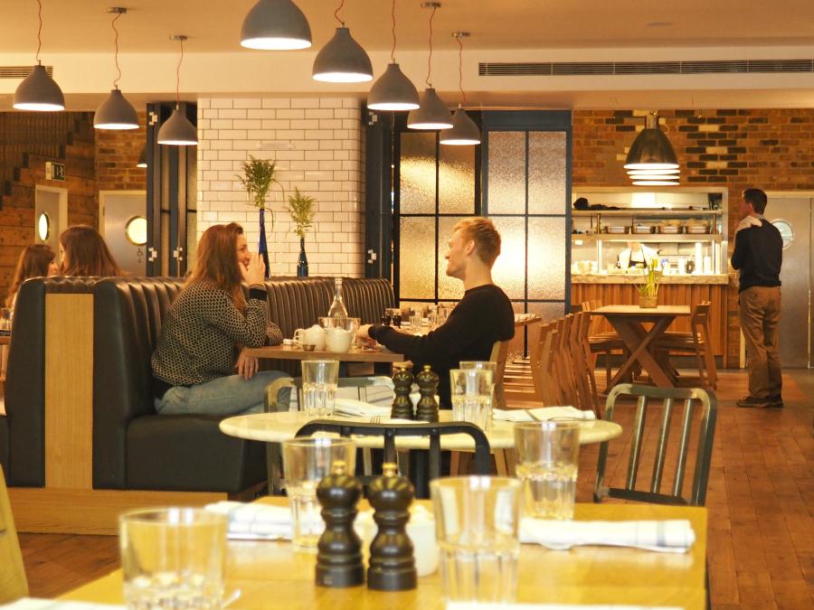 Tom's Kitchen St Katherine Docks London Food Blogger