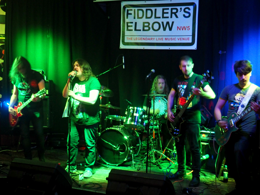 Dead Man's Whiskey Live Band at Fiddler's Elbow Camden London Music Blogger