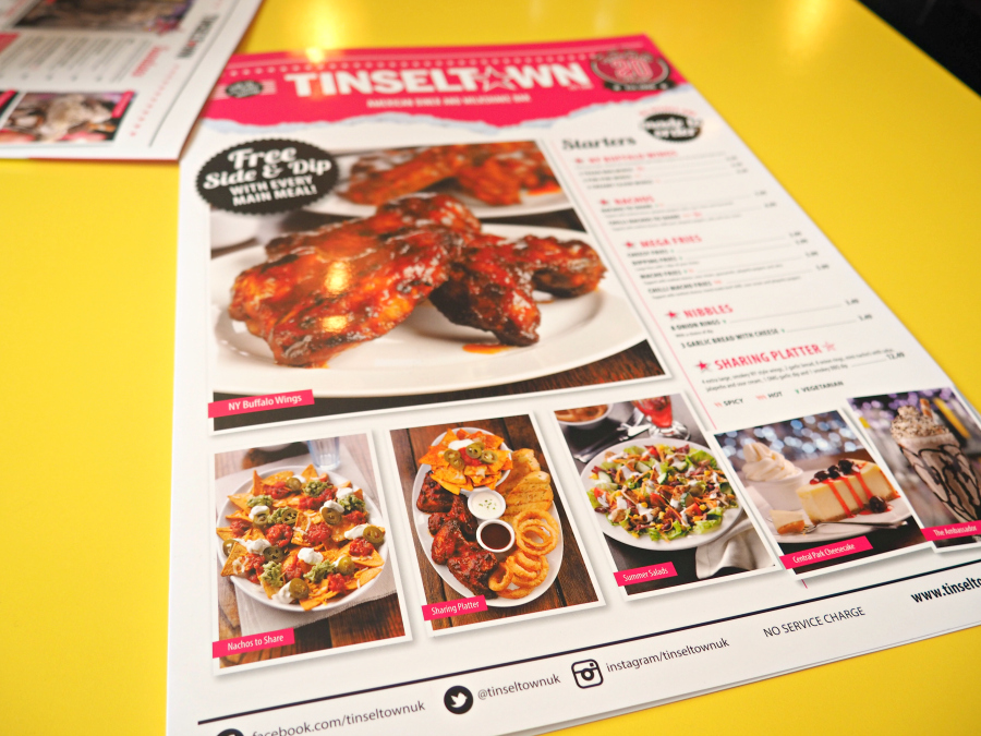 Tinseltown Gants Hill Halal Diner Menu London Food Blogger