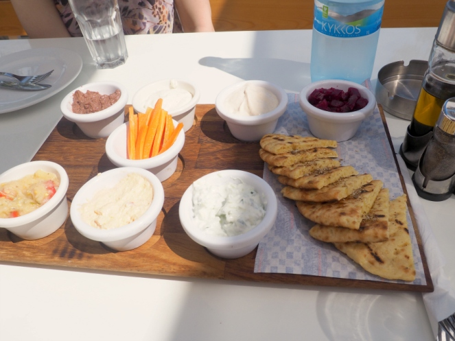 Travel Fashion Blogger Limassol Marina in Cyprus Summer Holiday Greek Food