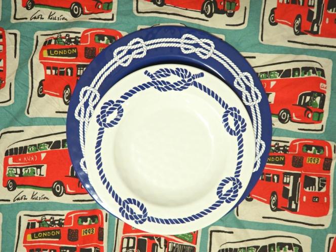 Cynthia Rowley Nautical Sailor Plates