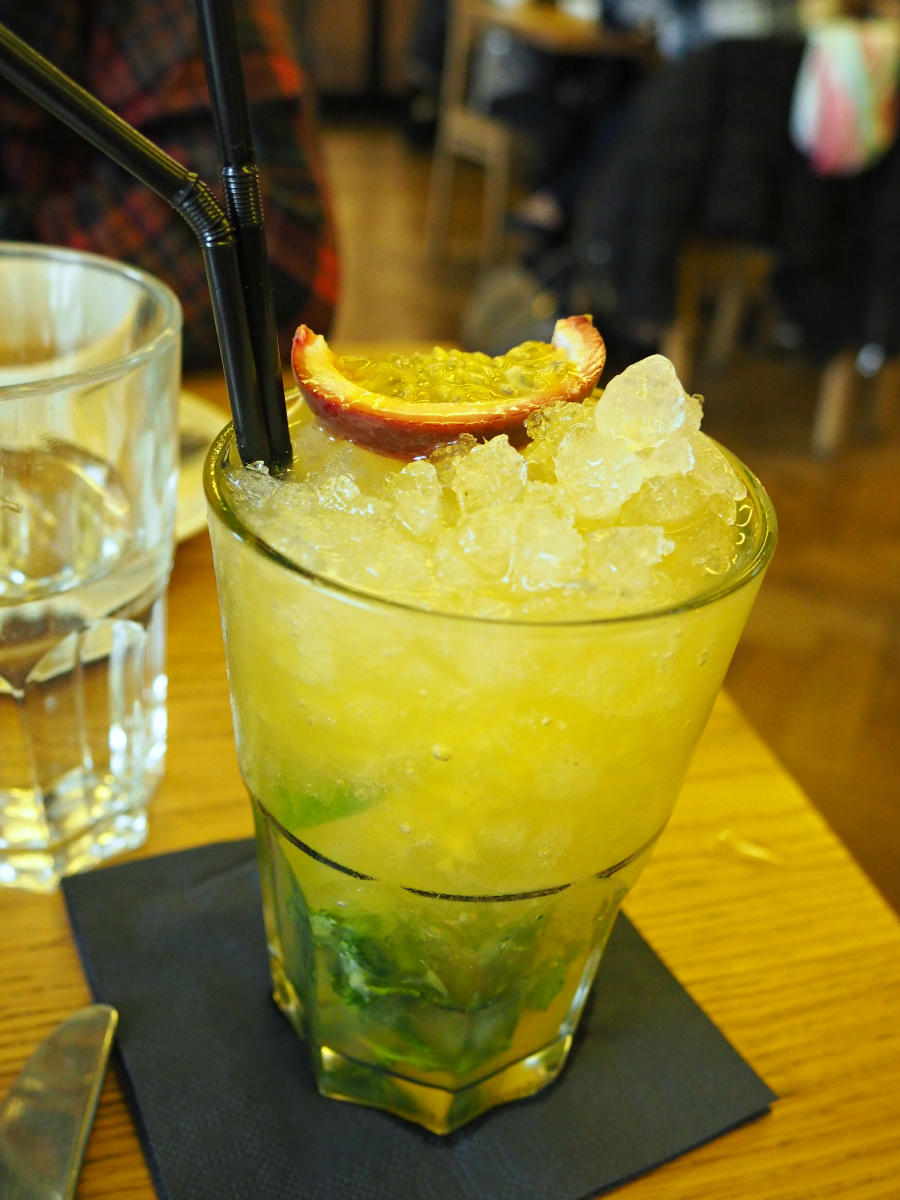 Tom's Kitchen St Katherines Dock Mango Mojito Cocktail London Food Blogger