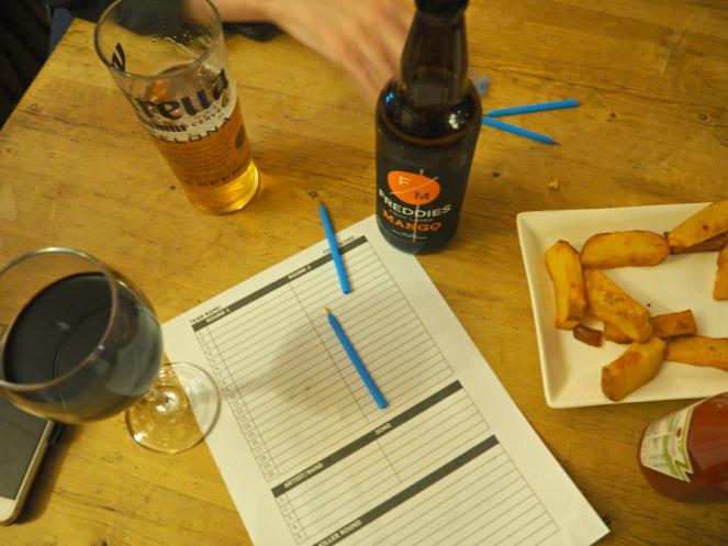 King Eddie's Pub Quiz London Blogger