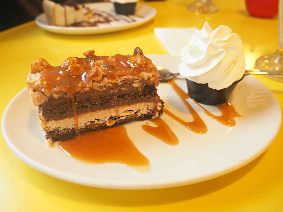 Tinseltown Gants Hill Hala Diner Peanut Butter Chocolate Cake Dessert London Food Blogger