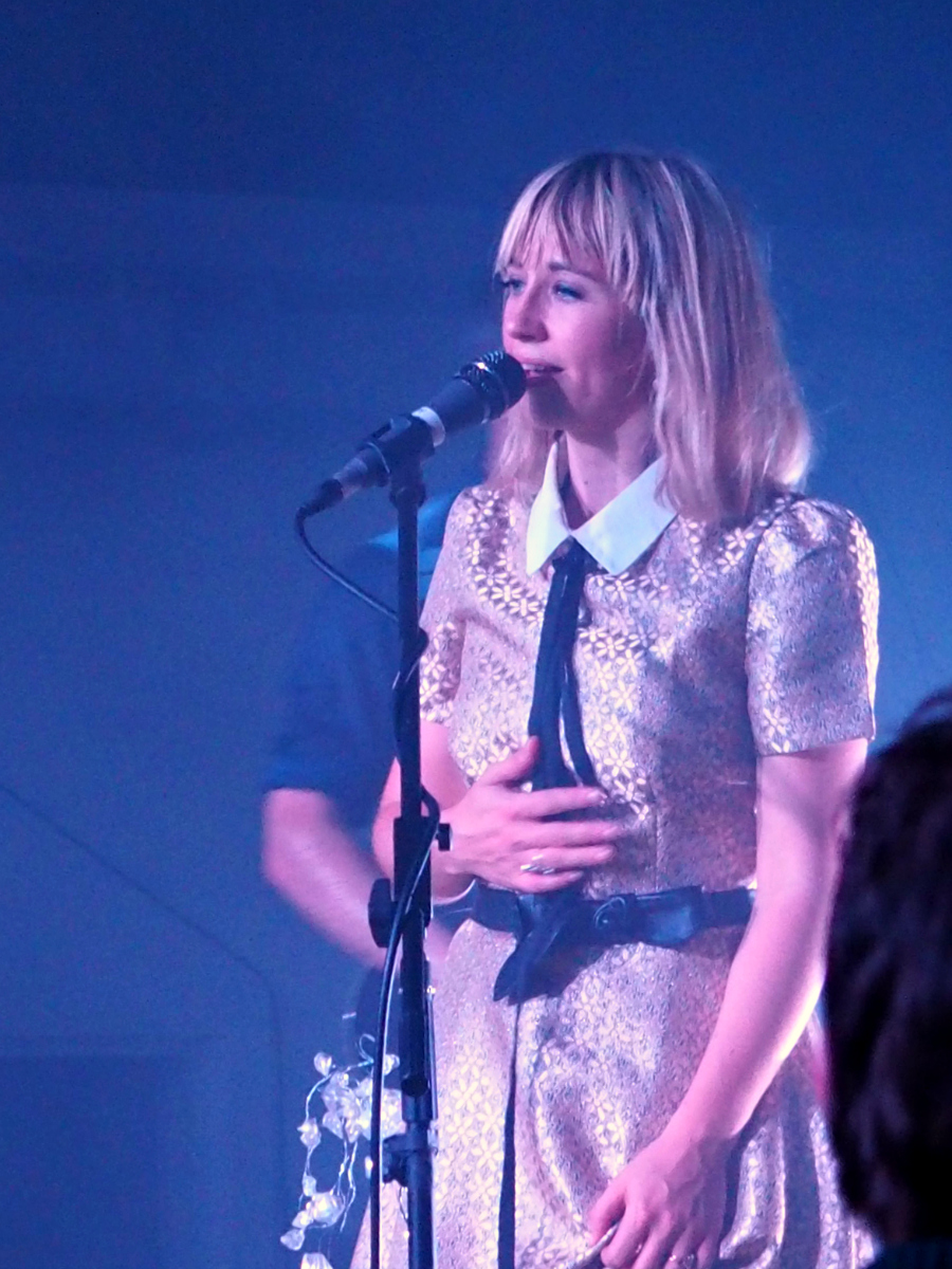 The Joy Formidable Band Live at Oval Space Jukely gig London Music Blogger