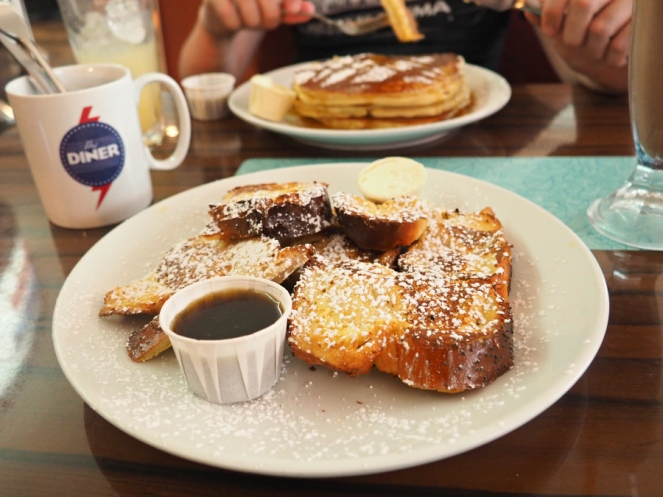 The Diner French Toast Breakfast Brunch Lunch London Food Blogger