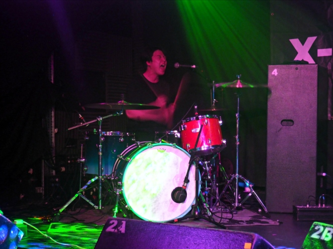 Dead Buttons Band Live Drummer Barfly Camden for Radio X London Music Blogger
