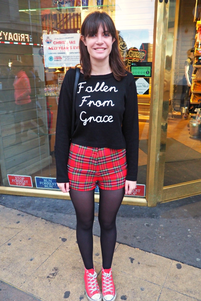 American Idiot Outfit of the Day London Fashion Blogger
