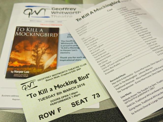 To Kill A Mockingbird Theatre Show London Blogger