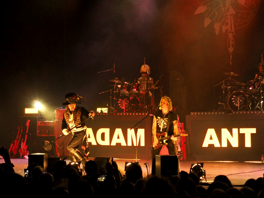 Adam and the Ants Band Live at Brixton Academy 2016 London Music Blogger
