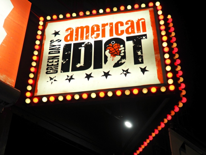 American Idiot Green Day Musical Theatre London Blogger