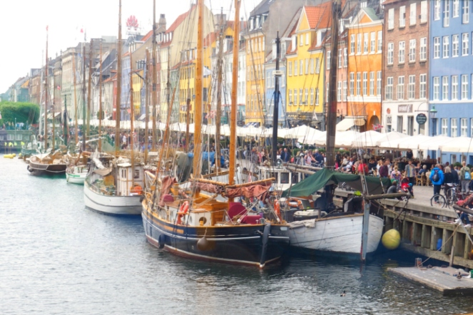 Nyhavn Boats Copenhagen Denmark Travel Blog Blogger