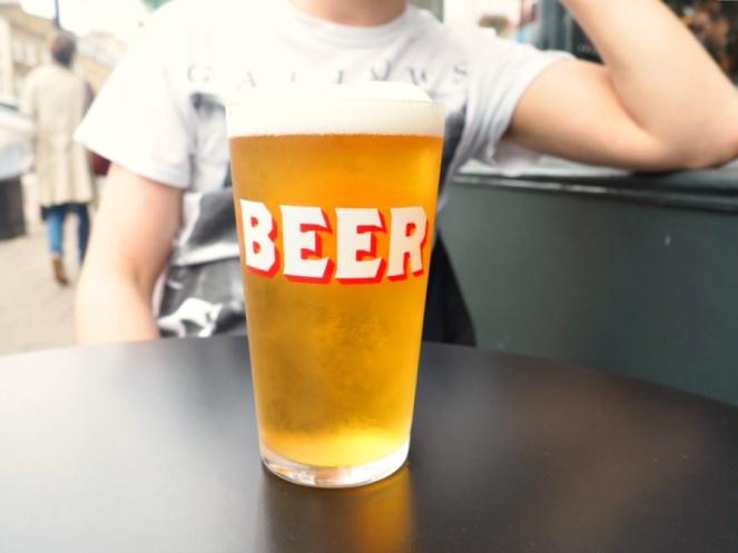Summer Beer London Food Blogger