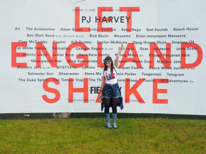 Field Day Summer Festival PJ Harvey London Fashion Music Blogger OOTD Outfit