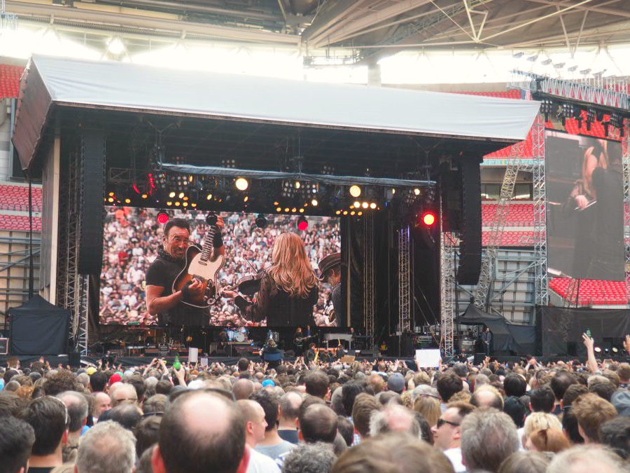 Bruce Springsteen Live at Wembley Stadium 2016 London Music Blogger