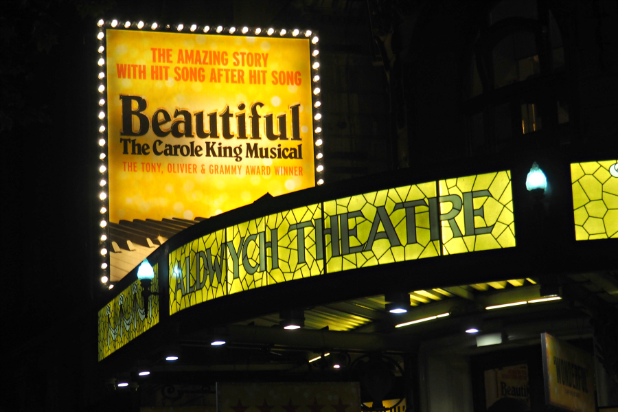 Beautiful the Carole King Musical West End Theatre London Blog Blogger