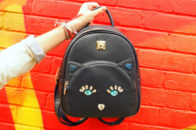 StyleWe Kitty Cat Bag Rucksack Backpack Fashion Blog Blogger