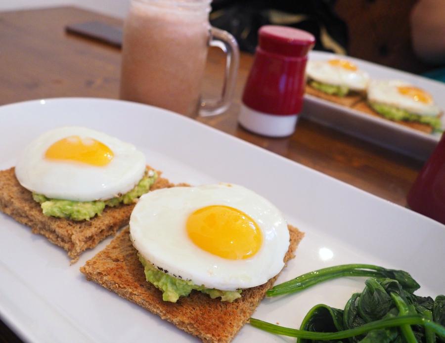 The Egg and Crockery Breakfast London Food Blog Blogger