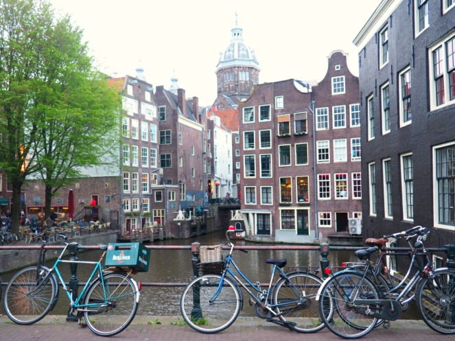 Amsterdam Travel Blog Blogger Architecture Bike Bicycle River Canal