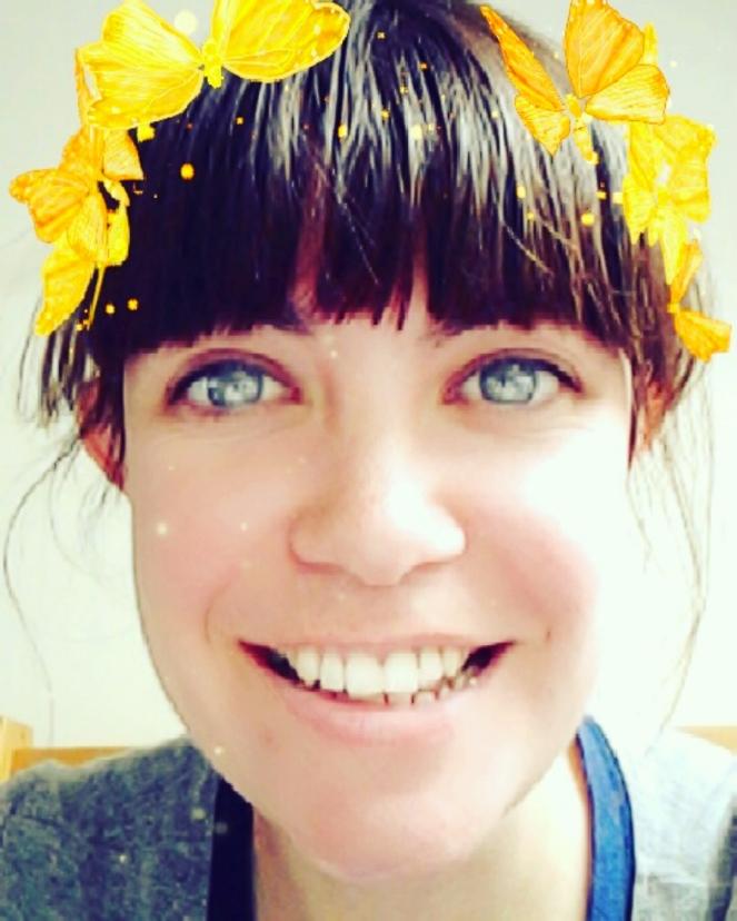 Snapchat Blogger Butterflies Filter