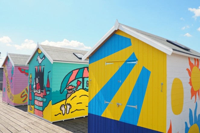 Southend Pier Travel Blog Blogger Seaside Beach Huts British Summer