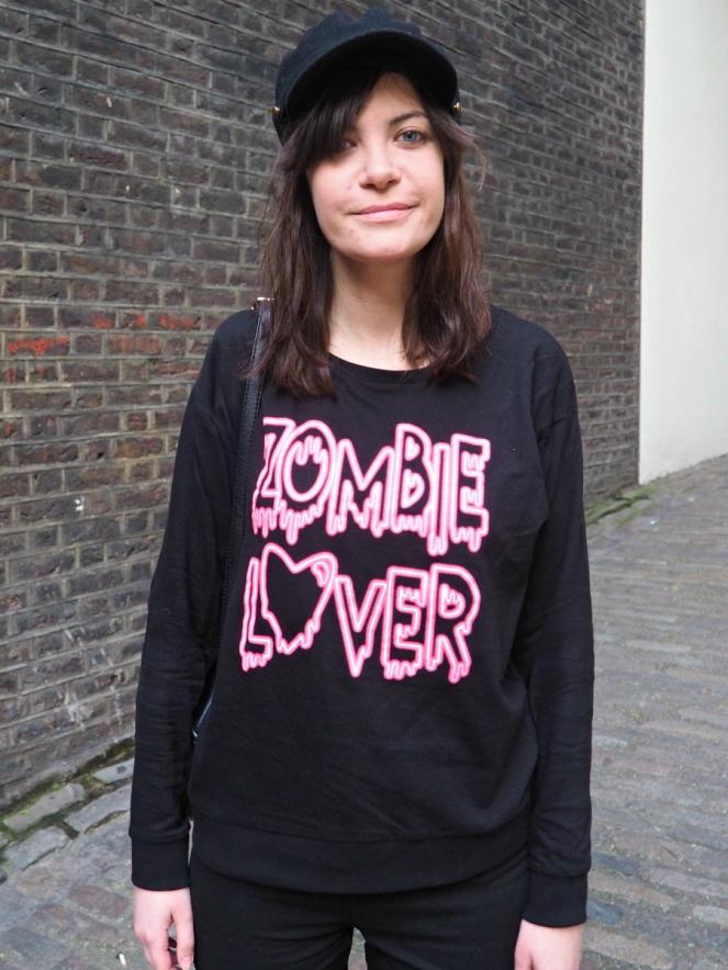 Zombie Lover Outfit OOTD London Style Fashion Blog Blogger