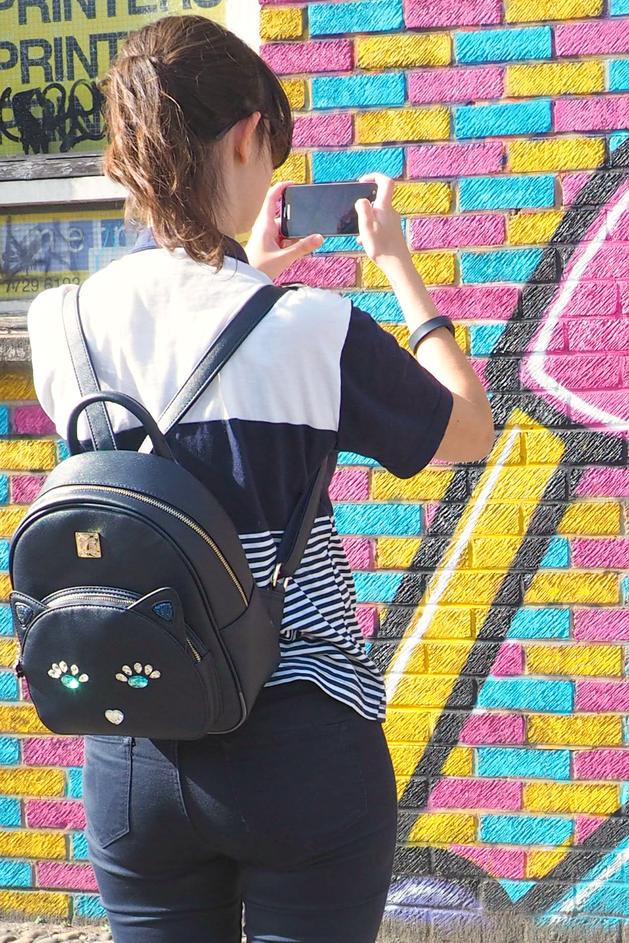 StyleWe Kitty Cat Bag Rucksack Backpack Fashion Blog Blogger