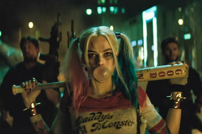 picture of margot robbie as Harley Quinn suicide squad photo