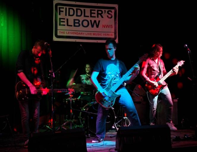 Red Hook Band UK Live at Fiddlers Elbow Camden London Music Blog Blogger