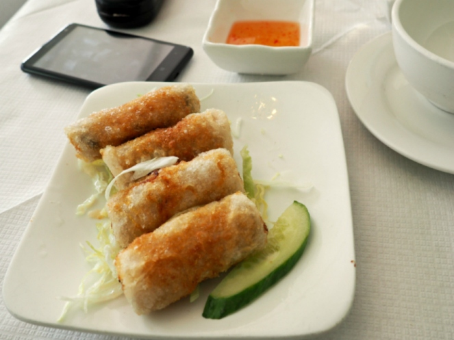 SongQue Shoreditch Vietnamese Spring Rolls London Food Blog Blogger