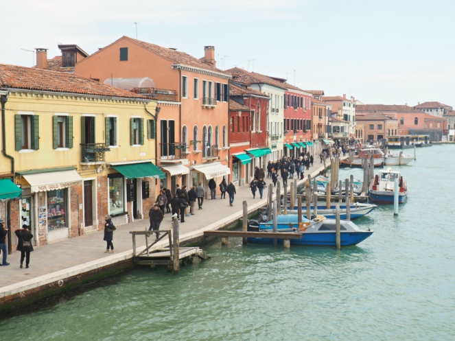 Travel Blogger in Murano Island Venice, Italy