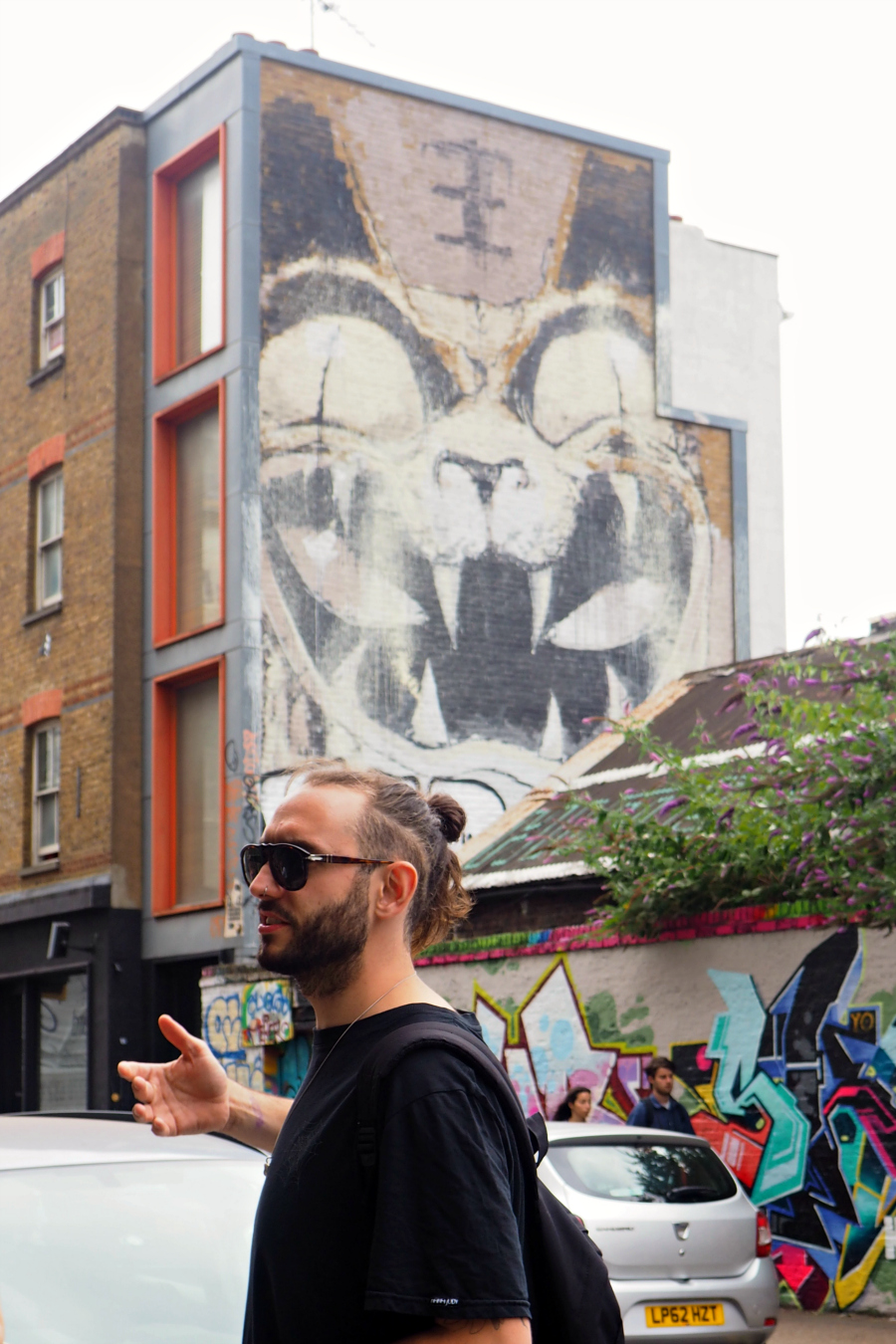 Street Art Tour with Alternative London Blog Blogger