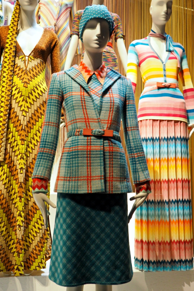 Missoni Art Colour at the Fashion and Textile Museum London Blog Blogger